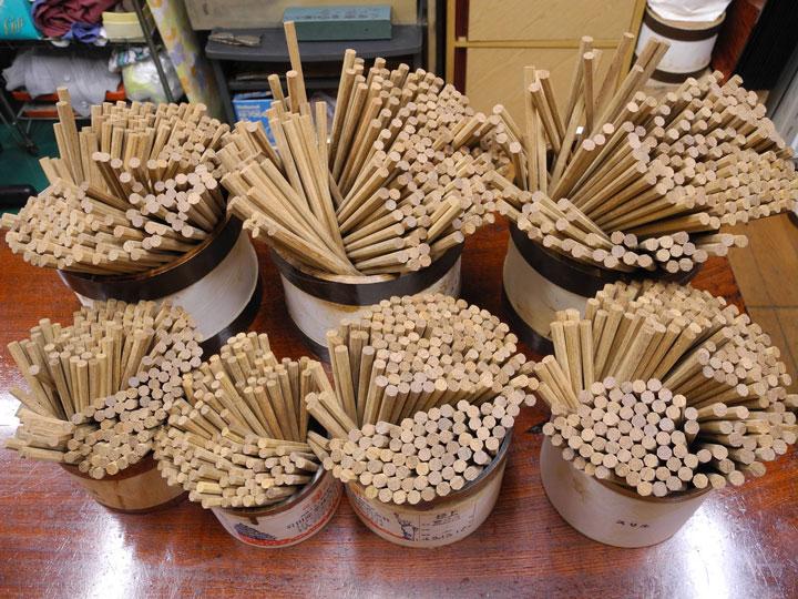 サイズ箸 八角鉄木 A-1